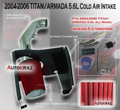 Air Intakes - OEM - Custom - Nissan Titan and Armada Air Intake