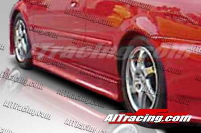 Prelude - Side Skirts - AIT Racing - Honda Prelude AIT Racing EVO3 Style Side Skirts - HP97HIEVO3SS