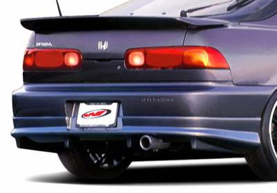 Integra 2Dr - Rear Add On - Wings West - Acura Integra 2DR Wings West G5 Series Rear Lower Skirt - 890622