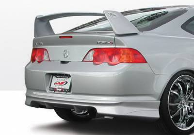 RSX - Rear Add On - Wings West - Acura RSX Wings West G5 Series Rear Lower Skirt - 890641