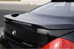 Carbonio - E63 Coupe Hamann Rear Spoiler - Carbon Kevlar