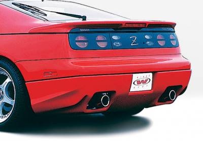 300Z - Rear Add On - VIS Racing - Nissan 300Z VIS Racing W-Type Rear Lip - Polyurethane - 890684