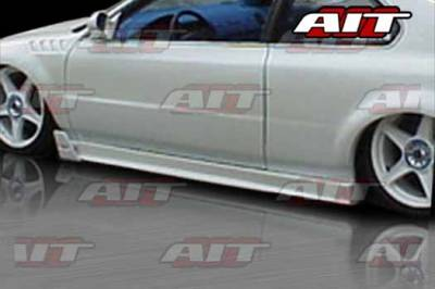 Prelude - Side Skirts - AIT Racing - Honda Prelude AIT MGN Style Side Skirts - HP97HIMGNSS