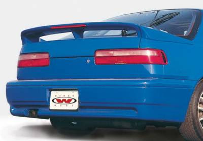 Integra 2Dr - Rear Add On - Wings West - Acura Integra 2DR Wings West Racing Series Rear Lower Skirt - 890688