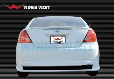 TC - Rear Add On - Wings West - Scion tC Wings West A-Spec Rear Lower Skirt - 890864