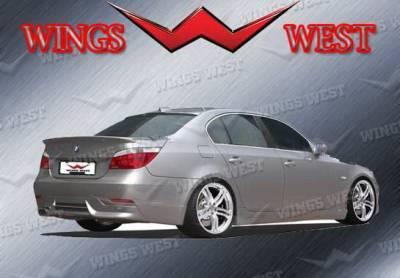 5 Series - Rear Add On - Wings West - BMW 5 Series Wings West VIP Rear Lower Skirt - 890922