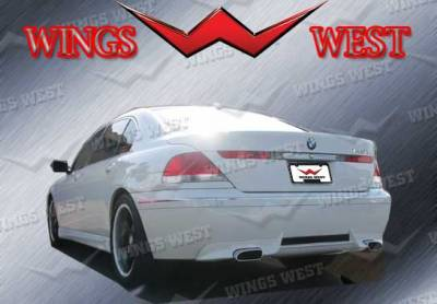 7 Series - Rear Add On - VIS Racing - BMW 7 Series VIS Racing VIP Rear Lip - Polyurethane - 890943
