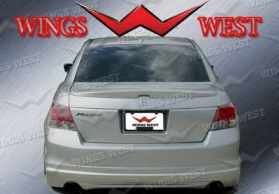 Accord 4Dr - Rear Add On - Wings West - Honda Accord 4DR Wings West VIP Rear Lower Skirt - 890958