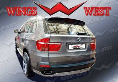 X5 - Rear Add On - VIS Racing - BMW X5 VIS Racing A-Tech Rear Lip - Polyurethane - 890978