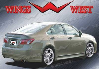 ES - Rear Add On - VIS Racing - Lexus ES VIS Racing VIP Rear Lip - Polyurethane - 890982