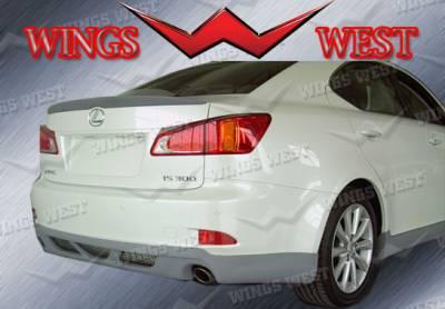 IS - Rear Add On - VIS Racing - Lexus IS VIS Racing WW Vip Rear Lip - Polyurethane - 891002