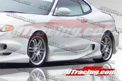 Tiburon - Side Skirts - AIT Racing - Hyundai Tiburon AIT Racing VS Style Side Skirts - HT00HIVSSS