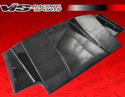 S2000 - Rear Add On - VIS Racing - Honda S2000 VIS Racing SP Carbon Fiber Rear Lower Diffuser - 00HDS2K2DSP-032C