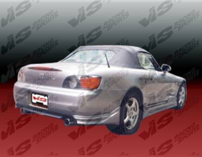 S2000 - Rear Add On - VIS Racing - Honda S2000 VIS Racing Tracer Rear Add-On Apron - Polyurethane - 00HDS2K2DTRA-012P