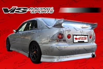 IS - Rear Add On - VIS Racing - Lexus IS VIS Racing V-Speed Rear Lip - 00LXIS34DJVSP-012