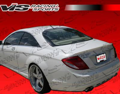 CL Class - Rear Add On - VIS Racing - Mercedes-Benz CL Class VIS Racing B-Spec Rear Lip - 00MEW2152DBSC-012