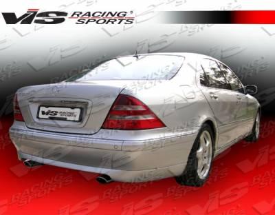 S Class - Rear Add On - VIS Racing - Mercedes-Benz S Class VIS Racing C-Tech Rear Lip - 00MEW2204DCTH-012