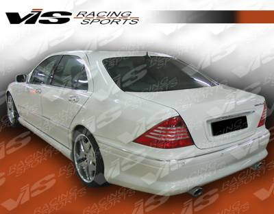 S Class - Rear Add On - VIS Racing - Mercedes-Benz S Class VIS Racing VIP Rear Lip - 00MEW2204DVIP-012