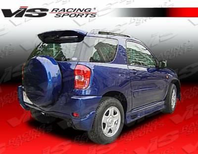 Rav 4 - Rear Add On - VIS Racing - Toyota Rav 4 VIS Racing Techno R Rear Addon - 01TYRAV4DTNR-012