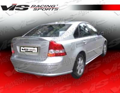 S40 - Rear Add On - VIS Racing - Volvo S40 VIS Racing Euro Tech Rear Lip - 01VVS404DET-012