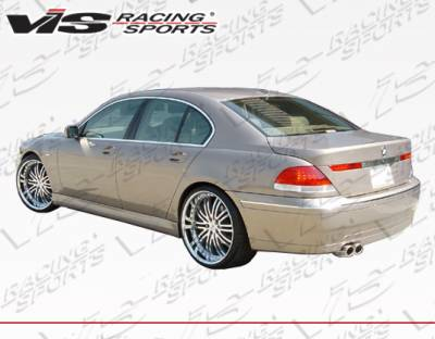 7 Series - Rear Add On - VIS Racing - BMW 7 Series VIS Racing ACT Rear Lip - 02BME654DACT-012