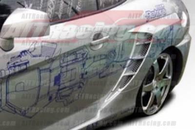 Tiburon - Fenders - AIT Racing - Hyundai Tiburon AIT Racing SC2 Style Rear Fenders - HT03HISC2RF