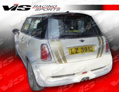 Cooper - Rear Add On - VIS Racing - Mini Cooper VIS Racing M-Speed Rear Lip - 02BMMC2DMSP-012
