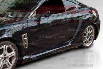 Tiburon - Side Skirts - AIT Racing - Hyundai Tiburon AIT Racing SC2 Style Side Skirts - HT03HISC2SS