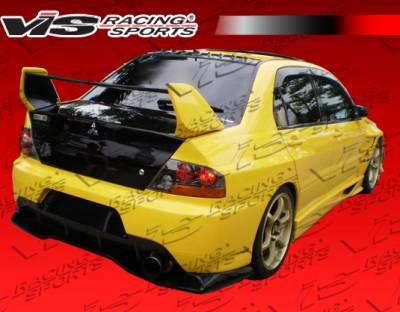 Evolution 8 - Rear Add On - VIS Racing. - Mitsubishi Evolution 8 VIS Racing VTX Widebody Rear Addon - 03MTEV84DVTXWB-012