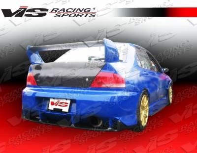 Lancer - Rear Add On - VIS Racing - Mitsubishi Lancer VIS Racing Z-Speed Carbon Rear Lip - 03MTEV84DZSP-012C