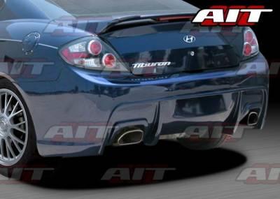 Tiburon - Rear Bumper - AIT Racing - Hyundai Tiburon AIT GT-Spec Style Rear Bumper - HT07HIGTSRB