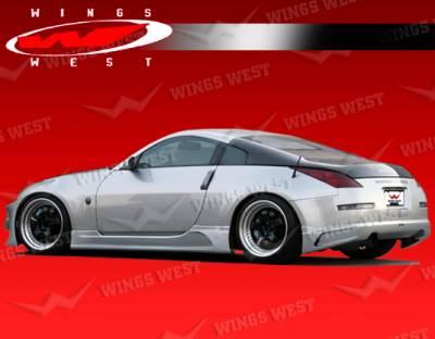 350Z - Rear Add On - VIS Racing - Nissan 350Z VIS Racing JPC Type A Rear Lip - 03NS3502DJPCA-012