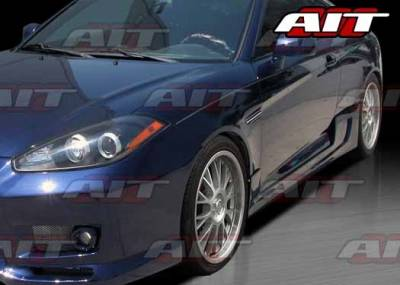 Tiburon - Side Skirts - AIT Racing - Hyundai Tiburon AIT GT-Spec Style Side Skirts - HT07HIGTSSS