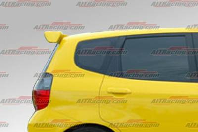 Spoilers - Custom Wing - AIT Racing - Honda Fit AIT Racing MG Style Rear Roof Wing - HT07HIMGNRW