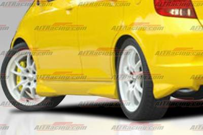 Fit - Side Skirts - AIT Racing - Honda Fit AIT Racing MG Style Side Skirts - HT07HIMGNSS