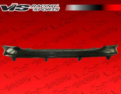 5 Series - Rear Add On - VIS Racing - BMW 5 Series VIS Racing Carbon Fiber HSC Rear Center Diffuser - 04BME60M54DHSC-032C