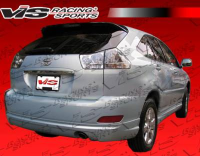 RX330 - Rear Add On - VIS Racing - Lexus RX330 VIS Racing Grand Touring Rear Lip - 04LXRX34DGDT-012