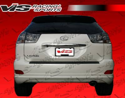 RX330 - Rear Add On - VIS Racing - Lexus RX330 VIS Racing VIP Rear Lip - 04LXRX34DVIP-012