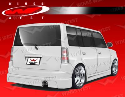 XB - Rear Add On - VIS Racing - Scion xB VIS Racing JPC Rear Lip - 04SNXB4DJPC-012
