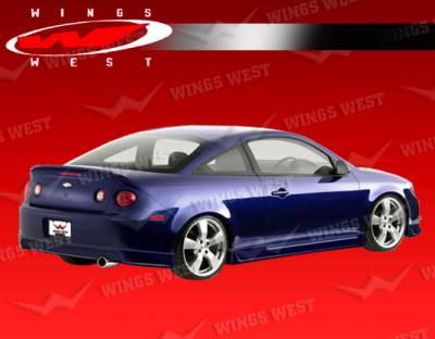 Cobalt 2Dr - Rear Add On - VIS Racing - Chevrolet Cobalt VIS Racing JPC Rear Lip - Polyurethane - 05CHCOB2DJPC-012P