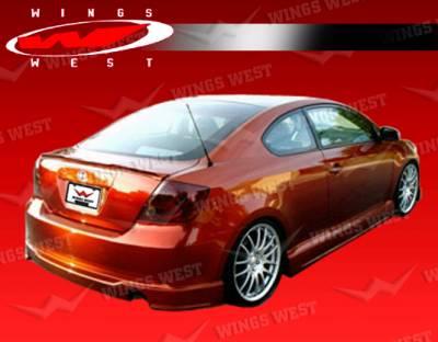TC - Rear Add On - VIS Racing - Scion tC VIS Racing JPC Rear Lip - Polyurethane - 05SNTC2DJPC-012P