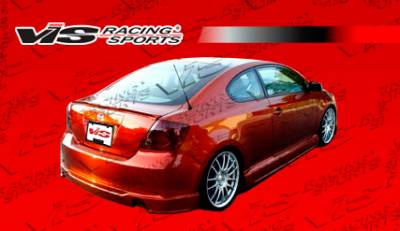 TC - Rear Add On - VIS Racing - Scion tC VIS Racing J Speed Rear Lip - Polyurethane - 05SNTC2DJSP-012P