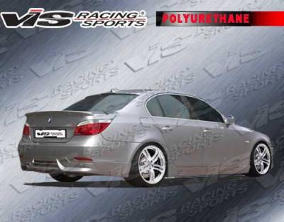 3 Series 4Dr - Rear Add On - VIS Racing - BMW 3 Series 4DR VIS Racing A-Tech Rear Lip - Urethane - 06BME904DATH-012P