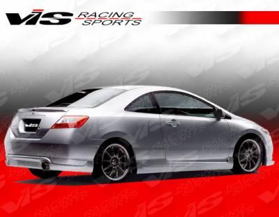 Civic 2Dr - Rear Add On - VIS Racing - Honda Civic 2DR VIS Racing Touring 2 Rear Lip - 06HDCVC2DTOU2-012