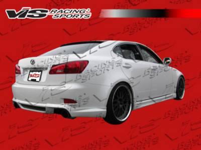 IS - Rear Add On - VIS Racing - Lexus IS VIS Racing JPC Rear Lip - Polyurethane - 06LXIS34DJPC-012P