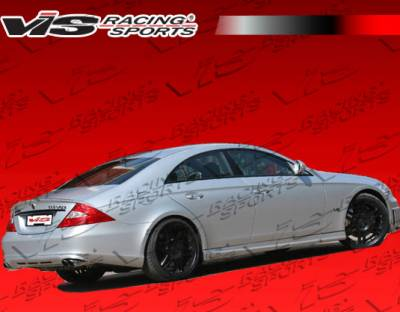 CLS - Rear Add On - VIS Racing - Mercedes-Benz CLS VIS Racing B-Spec Rear Lip - 06MEW2194DBS-012