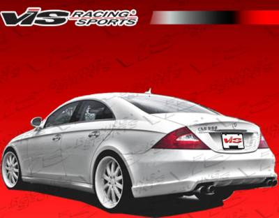 CLS - Rear Add On - VIS Racing - Mercedes-Benz CLS VIS Racing C-Tech Rear Lip - 06MEW2194DCTH-012