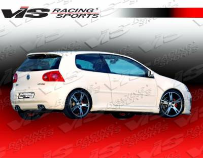 Golf - Rear Add On - VIS Racing - Volkswagen Golf VIS Racing A-Tech Rear Lip - 06VWGOF2DATH-012