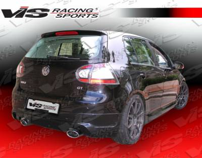 Golf - Rear Add On - VIS Racing - Volkswagen Golf VIS Racing C-Tech Rear Lip - 06VWGOF2DCTH-012