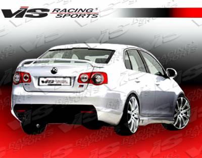 Jetta - Rear Add On - VIS Racing - Volkswagen Jetta VIS Racing C Tech Rear Addon - 06VWJET4DCTH-012